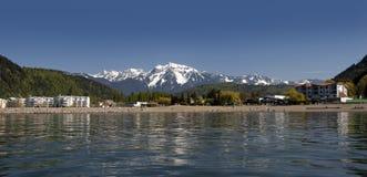 Harrison-heiße Frühlinge, Britisch-Columbia, Kanada Lizenzfreie Stockbilder