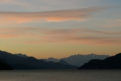 Harrison Lake Royaltyfri Foto