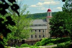 Harrisville, NH: 1859 Mühlnummer zwei Stockfotografie