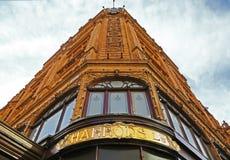 Harrod's building in Knightsbridge, London Stock Photography