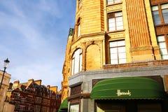 Harrod's building in London Stock Photography