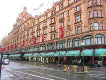 Harrod's Department Store Royalty Free Stock Images