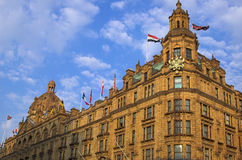 Harrod's department store. View from the world famous Harrod's department store in London, England Royalty Free Stock Photography