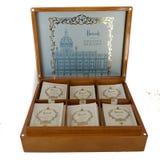 Tea Bags in a Box Stock Photo