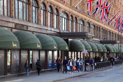 Harrods Photo libre de droits