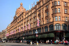 Harrods Foto de Stock Royalty Free
