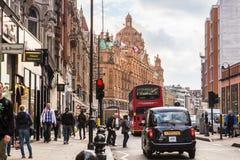 Harrods Brompton Londra Immagini Stock Libere da Diritti