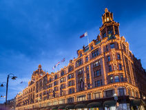 Harrods Department Store London England Royalty Free Stock Photography