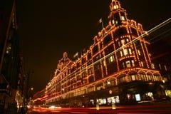 Harrods em Londres Fotos de Stock Royalty Free