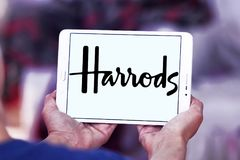 Harrods gatunku logo Zdjęcia Royalty Free