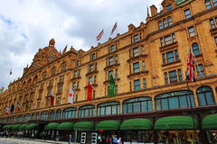 Harrods, Historic buildngs, London, England Royalty Free Stock Photos