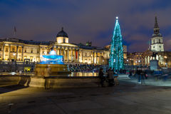 Harrods in Knightsbridge at Christmas Stock Image
