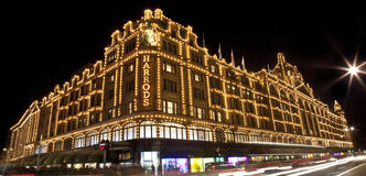 Harrods in London Stock Image