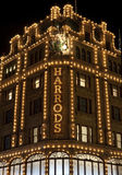 Harrods in London stockbilder