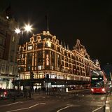Harrods in London Royalty Free Stock Image