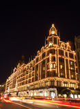 harrods london Arkivfoton