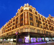 Harrods in London Stock Images