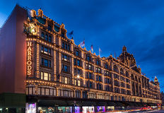 Harrods London England Stock Images