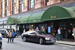 Harrods, London royalty free stock image