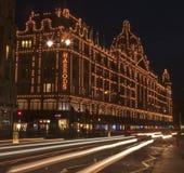 Harrods, Londres Photos libres de droits