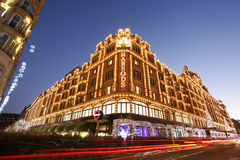 Harrods, luxury department store Royalty Free Stock Photos