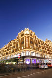 Harrods, luxury department store Stock Images