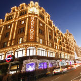 Harrods, luxury department store Royalty Free Stock Photo