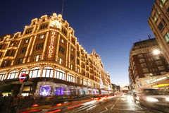 Harrods, luxury department store Royalty Free Stock Image