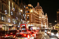 Harrods, luxury department store Royalty Free Stock Images