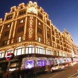 Harrods, magasin de luxe Photo libre de droits
