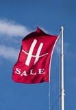 Harrods sale flag Royalty Free Stock Photo