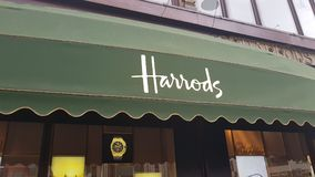 Harrods Stock Image