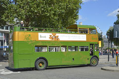 Harrods tour bus Royalty Free Stock Images