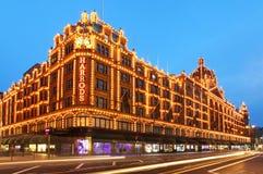 Harrods w Londyn Fotografia Stock