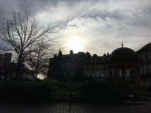 Harrogate nachdem dem Regnen Lizenzfreies Stockfoto