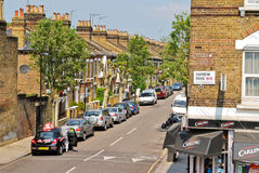 Harrow Road Royalty Free Stock Photography