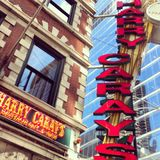 Harry Caray's. The Harry Caray's restaurant and bar in Chicago, Illinois Stock Photos