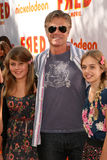 Harry Hamlin. With daughter Delilah with friend  at the premiere of Fred: The Movie, Paramount Studios, Hollywood, CA. 09-11-10 Stock Photos