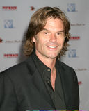 Harry Hamlin,. Harry Hamlin Hollyrod Designcure featuring Pamela Dennis and her designs at the home of Sugar Ray Leonard and family Pacific Palisaides, CA July 9 Royalty Free Stock Images