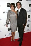 Harry Hamlin, Lisa Rinna Royalty Free Stock Photo