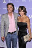 Harry Hamlin, Lisa Rinna Royalty Free Stock Image