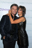 Harry Hamlin, Lisa Rinna Stock Photos