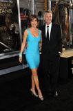 Harry Hamlin, Lisa Rinna Photos libres de droits