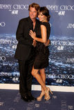 Harry Hamlin,Lisa Rinna. Harry Hamlin & Lisa Rinna arriving at the Jimmy Choo for H&M Launch Party Private Residence West Hollywood,  CA November 2, 2009 Stock Photo