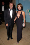 Harry Hamlin,Lisa Rinna. Actress LISA RINNA & actor husband HARRY HAMLIN at the Carousel of Hope Ball 2000 at the Beverly Hilton Hotel. 28OCT2000.   Paul Smith Stock Image