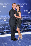 Harry Hamlin,Lisa Rinna. Harry Hamlin and Lisa Rinna  at the Jimmy Choo For H&M Collection, Private Location, Los Angeles, CA. 11-02-09 Stock Images