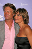 Harry Hamlin,Lisa Rinna Royalty Free Stock Image