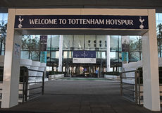 Tottenham branded Wembley Stadium entrance Royalty Free Stock Images