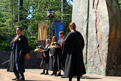 Harry Poter piosenkarzi Zdjęcia Royalty Free
