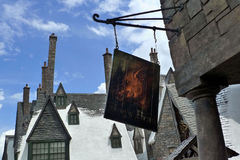 Harry potter. The wizarding world of harry potter at universal studio orlando Royalty Free Stock Photos